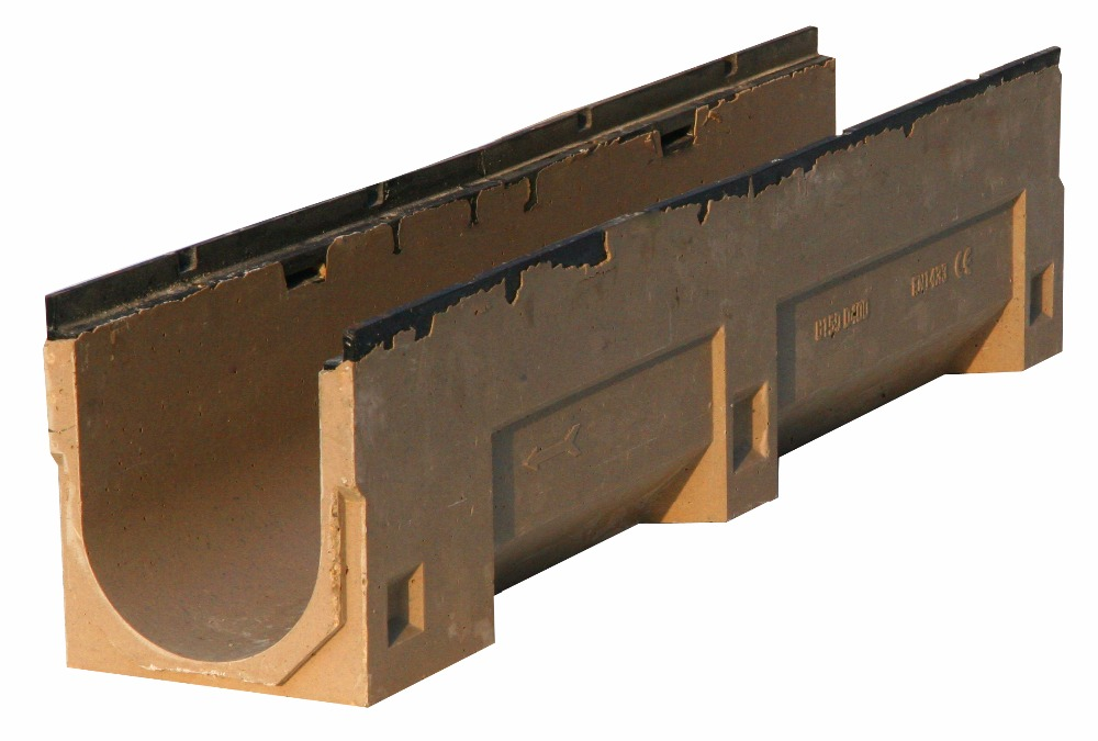 MU150 Polycast Resin Concrete Drainage Gutter