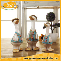 Lovely ceramic duck for home decoration garden decoration