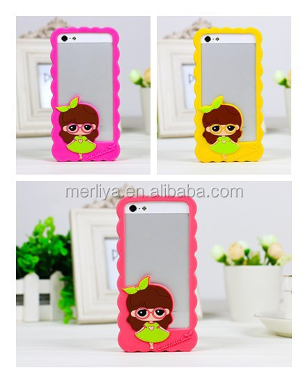 Silicone Bumper Frame Cover Case for iPhone5/5s