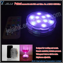 JEJled tea light submersible ultra violet Floralytes Decorative Accent Lighting (10 Colors Available)