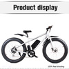 "MOTORLIFE/SEB-2 20""Fat tire 36v 500w green power electric motor bike, bicicleta electrica for man"