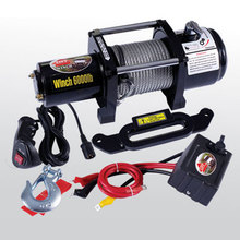 12000lbs 4x4 electric car cable winch 12v dc motor
