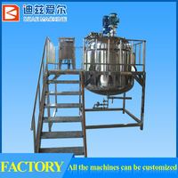 adhesive reactor, stainless steel steam jacketed kettle, double jacketed steam kettles