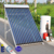 Environmental protection 12 bar solar hot water heater system