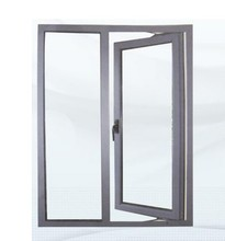 Horizontal Opening Pattern and Aluminum Alloy Frame Material double glazed tempered glass windows