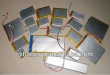 Variety kinds of capacity and dimension li polymer battery LIPO battery