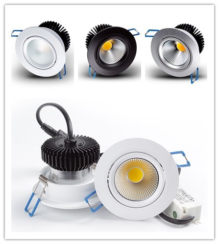 Norske standard 48mm height 75mm hole cob led downlight 5w 6w 7w for renovation projects