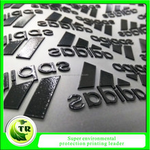 silicone heat transfer clothing label,silicone heat transfer garment brand labels