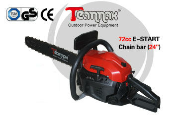 72cc power machine for wood cutting gasoline chainsaw