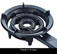 Teenwin commerical Biogas big burner for cooking