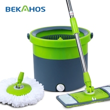 2014 Bekahos Most Popular Catch Mop The Best Microfiber Mop With Flat Mop Heads