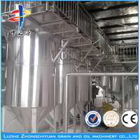 Factory price automatic 10~500TPD palm oil refinery manufacturer