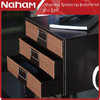 NAHAM office file weave paper 3 layers storage organizer drawers