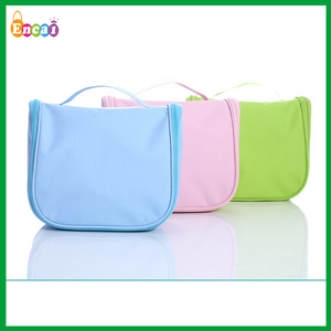 Encai New Design Travel Hanger Toiletries Bag/Portable Cosmetic Bag/Colourful Bath Organizer Bags