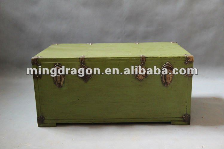 Chinese antique camphor wood storage chest