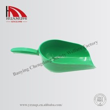 Durable Plastic High Quality Chicken Plastic Poultry Feeder Shovel 350*150mm green sheep food shovel