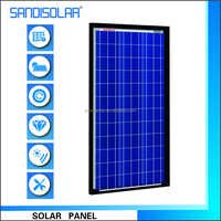 High Efficiency 60W Polycrystalline Flexible Solar