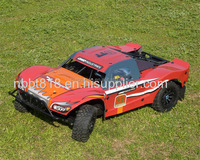 Top selling 1/5 scale plastic petrol rc car
