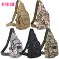 Mens practical military sling bag chest shoulder bag camouflage chest bag
