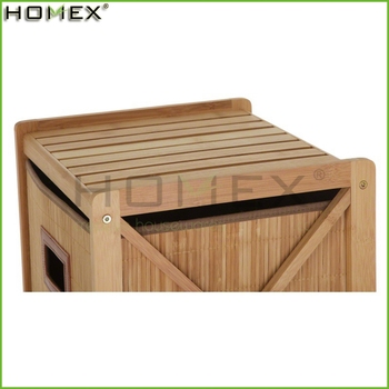 Bamboo Bathroom Cabinet 4 Drawer Chest Homex-BSCI Factory