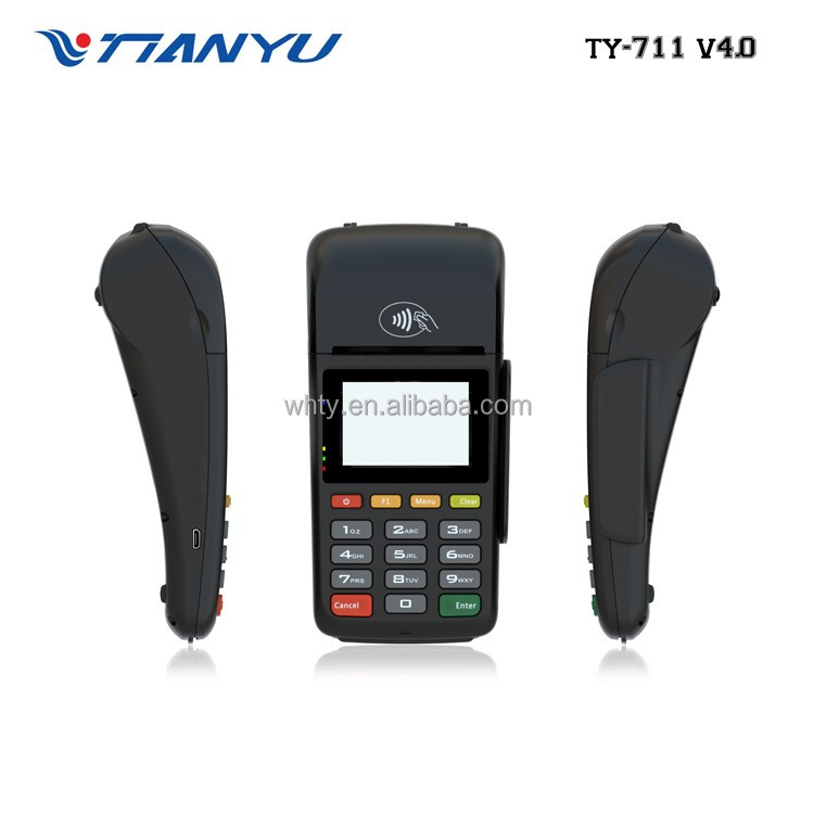 New Mobile POS Wireless Handheld POS Terminal With NFC Reader