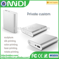 Universal USB Backup Portable External Pack 10400mAh power bank charger
