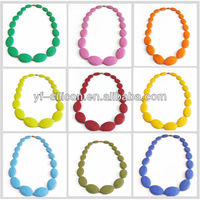 Silicone Teething silicone baby nipple teether necklace