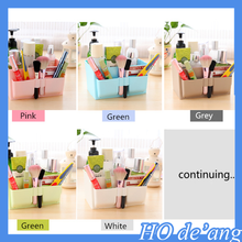 Colorful plastic PP waterproof storage box drawer cosmetics jewelry storage box creative pink desktop storage box MHo-150