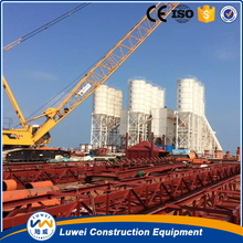 100 ton bolted cement silo for concrete mixing plant