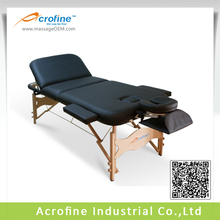 Folding Beauty Portable Massage Table Used Wooden Table Legs