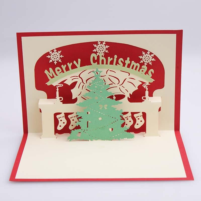 rbol de navidad d popup de tarjetas de navidad tarjetas de felicitacin para imprimir