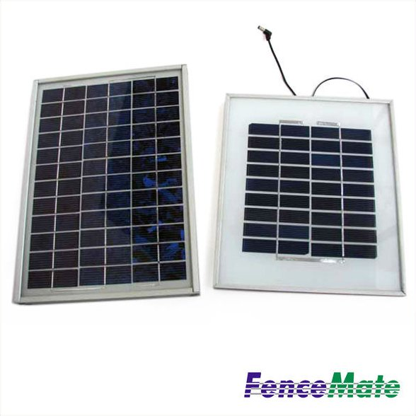 Electric Fence Solar Panel with Mounting Frame