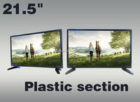 Ultra thin cheap 21.5 inch DLED TV in skd/ckd form