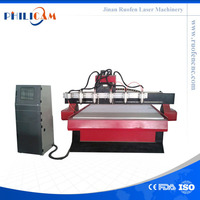 Philicam 1325 / 1530/ 2030 six heads multi functional cnc router woodworking