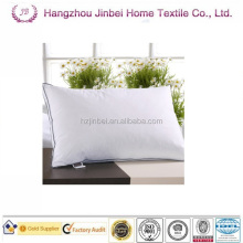 White goose down feather pillows