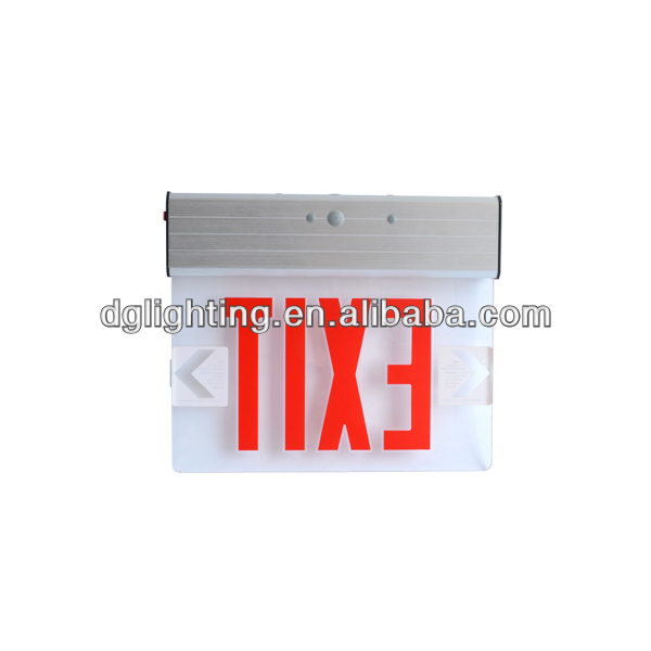 Double/ Single side LED Exit & Emergency Sign light