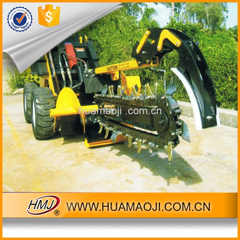 Tractor trencher , excavator chian trehcher from HMJ