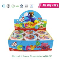 loufor super light modeling clay air dry polymer clay educational diy toys for kids
