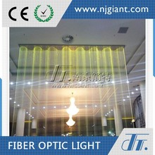 0.75mm side sparking fiber optic led waterfall light curtain