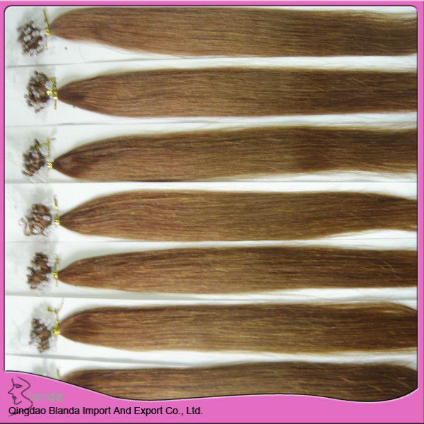 kinky curl black color micro beads hair extension
