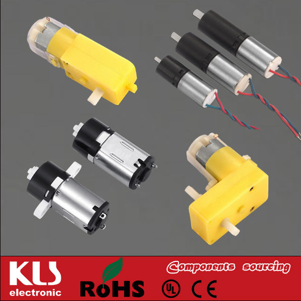 Good quality micro 6mm dc pm motor small UL CE ROHS 031 KLS Brand