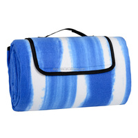 Waterproof Moistureproof Outdoor Camping Garden Travel Fleece Picnic Mat Rug Blanket