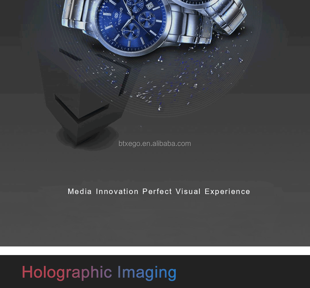 High Resolution 3D Holographic Display Hologram Fan for shopping mall advertising