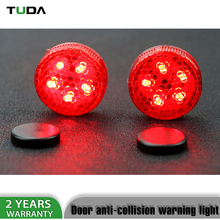 Hot Selling Auto Red Color Led Warning Light,Wireless Car Door Led Lights