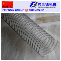 Spiral Steel Wire PVC PP PE PU Hose Pipe Duct Production Line Making Machine