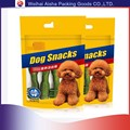 Stand Up Zip Lock Resealable Waterproof Pet Food Bag