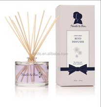 100ml empty aroma reed diffuser bottle with rattan stick