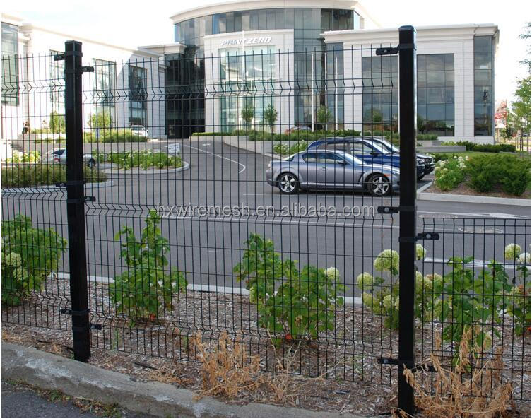 rigid welded wire mesh fence panels / welded wire fence installation / welded mesh fence price