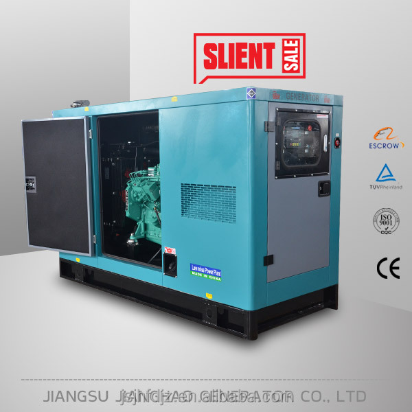 small power diesel gensets 30kw silent with Cummins engine generator price