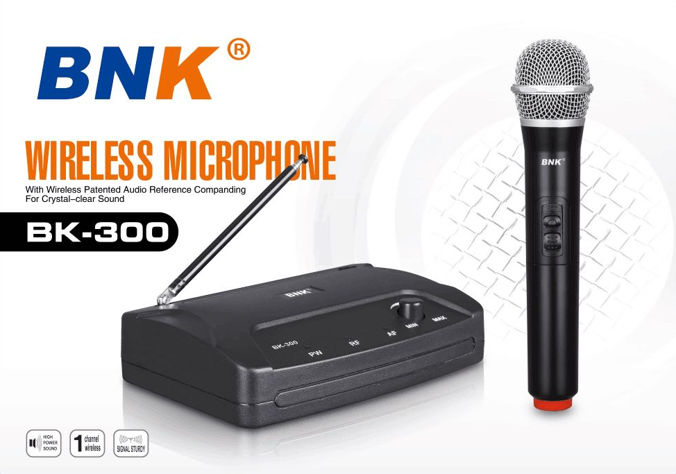 Good selling enping lansion audio factory wireless microphone BK301